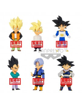 Dragon Ball Z WCF ChiBi PVC Statues 7 cm Assortment Extra Costume (12)