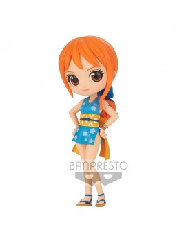 One Piece Q Posket Mini Figure Onami Ver. A 14 cm