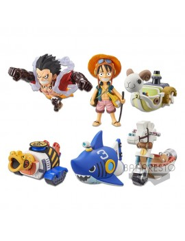 One Piece WCF ChiBi PVC Statues 7 cm Assortment Treasure Rally Vol. 1 (12)