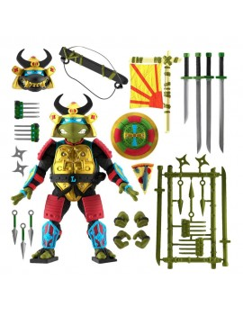 Teenage Mutant Ninja Turtles Ultimates Action Figure Leo the Sewer Samurai 18 cm