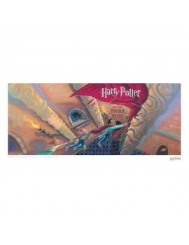 Harry Potter Art Print Chamber of Secrets Book Cover Artwork Limited Edition 42 x 30 cm
