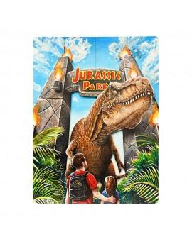 Jurassic Park WoodArts 3D Wooden Wall Art Rex Attack 30 x 40 cm