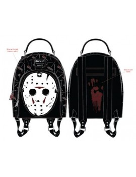 Friday the 13th by Loungefly Backpack Jason Mask