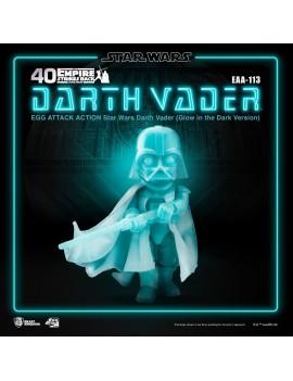 Star Wars Egg Attack Action Figure Darth Vader Glow In The Dark Ver. 16 cm