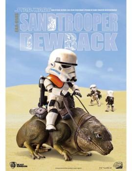 Star Wars Episode IV Egg Attack Action Figure 2-pack Dewback & Sandtrooper 9/15 cm