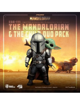 Star Wars The Mandalorian Egg Attack Action Action Figures The Mandalorian & The Child 7 - 17 cm