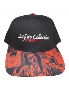 Junji Ito Curved Bill Cap Logo