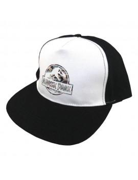 Jurassic Park Curved Bill Cap Camo Logo