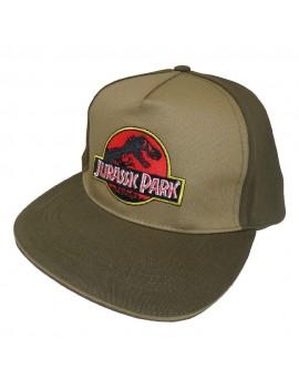 Jurassic Park Curved Bill Cap Logo