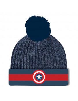 Marvel Captain America Beanie Logo