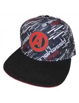 Marvel Comics Avengers Curved Bill Cap A Logo