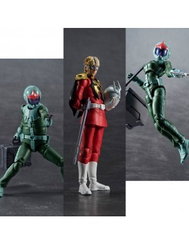 Mobile Suit Gundam G.M.G. Action Figure 3-Pack Principality of Zeon Army Soldiers 10 cm