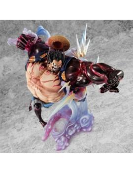 One Piece Excellent Model P.O.P PVC Statue SA-Maximum Monkey D. Luffy Gear 4 Bounce Man Ver. 2 27 cm