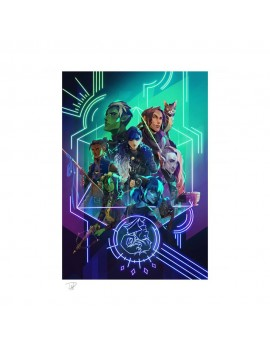 Critical Role Art Print The Mighty Nein: Nat 20! 46 x 61 cm - unframed