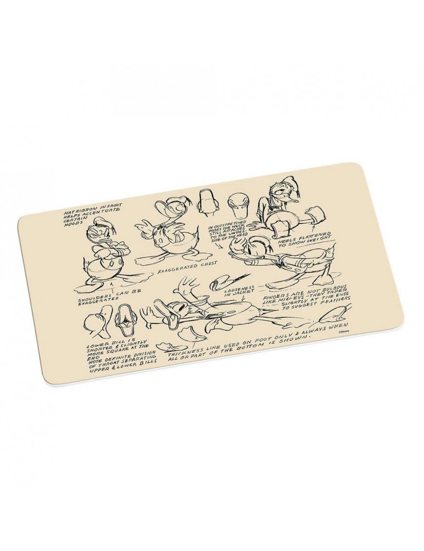 Donald Duck Cutting Board Vintage