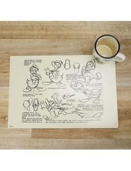 Donald Duck Lenticular Placemat 2-Pack Vintage