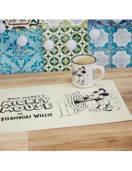 Mickey Mouse Lenticular Placemat 2-Pack Steamboat Willie