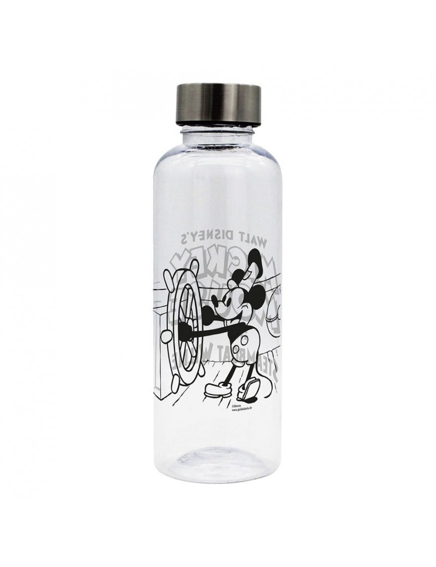 Mickey Mouse Water Bottle Steamboat Willie