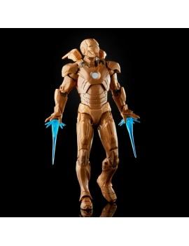 The Infinity Saga Marvel Legends Action Figure 2-Pack 2021 Happy Hogan & Iron Man (Iron Man 3) 15 cm