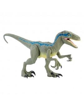 Jurassic World Dino Rivals Action Figure Super Colossal Velociraptor Blue 45 cm