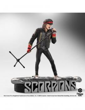 Scorpions Rock Iconz Statue Klaus Meine Limited Edition 22 cm