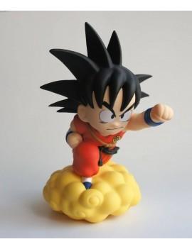 Dragon Ball Chibi Coin Bank Son Goku on Flying Nimbus 22 cm