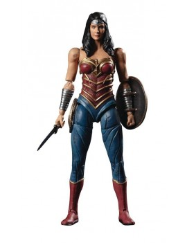 Injustice 2 Action Figure 1/18 Wonder Woman Previews Exclusive 10 cm