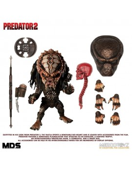 Predator 2 Mezco Designer Series Action Figure Deluxe City Hunter 15 cm