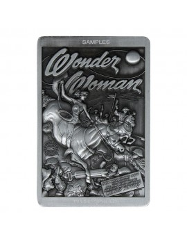 DC Comics Collectible Plaque Wonder Woman Limited Edition