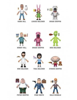 Fox Animation Action Vinyls Mini Figures 8 cm Display (12)