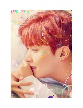 BTS Fine Art Print Love Yourself: j-hope 46 x 61 cm - unframed