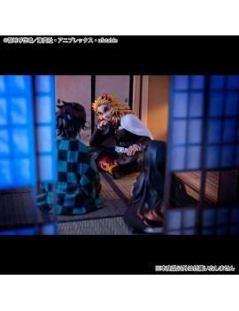 Demon Slayer Kimetsu no Yaiba G.E.M. PVC Statue Rengoku Palm Size Edition Deluxe 9 cm