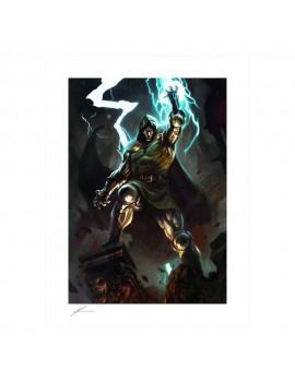 Marvel Art Print Doctor Doom 46 x 61 cm - unframed