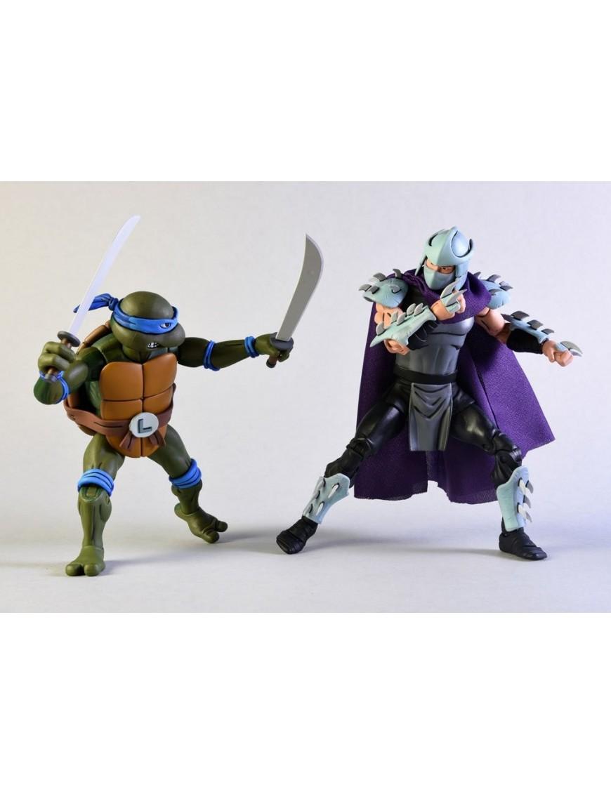 Teenage Mutant Ninja Turtles Action Figure 2 Pack Leonardo Vs