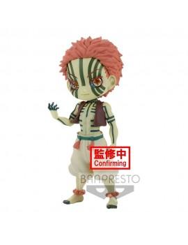 Demon Slayer Kimetsu no Yaiba Q Posket Mini Figure Akaza Ver. B 14 cm