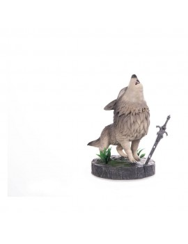 Dark Souls PVC SD Statue The Great Grey Wolf Sif 22 cm