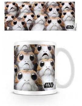 Star Wars Episode VIII Mug Many Porgs