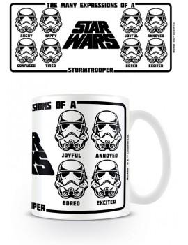 Star Wars Mug Expressions Of A Stormtrooper