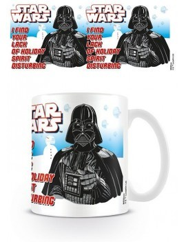 Star Wars Mug Holiday Spirit