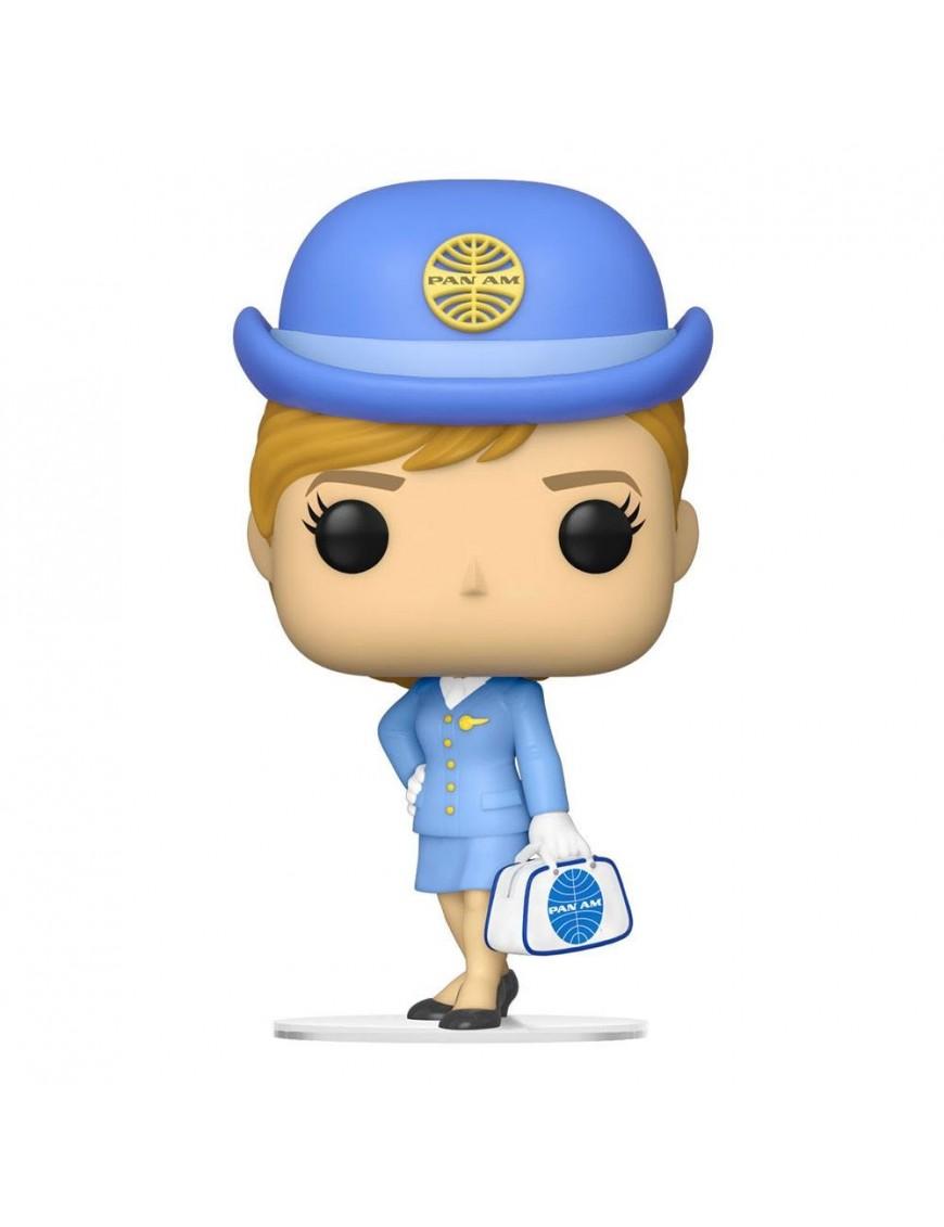 Pan Am POP! Ad Icons Vinyl Figure Stewardess w/White Bag 9 cm