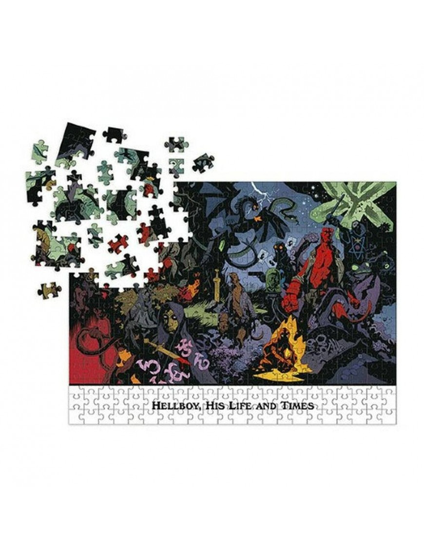 Hellboy Jigsaw Puzzle His Life and Times (1000 pieces)