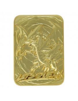 Yu-Gi-Oh! Replica Card Blue Eyes Ultimate Dragon (gold plated)