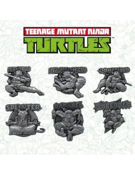 Teenage Mutant Ninja Turtles Pin Badge 6-Pack Limited Edition