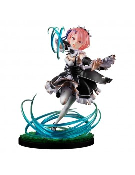 Re:ZERO -Starting Life in Another World- PVC Statue 1/7 Ram Battle with Roswaal Ver. 24 cm