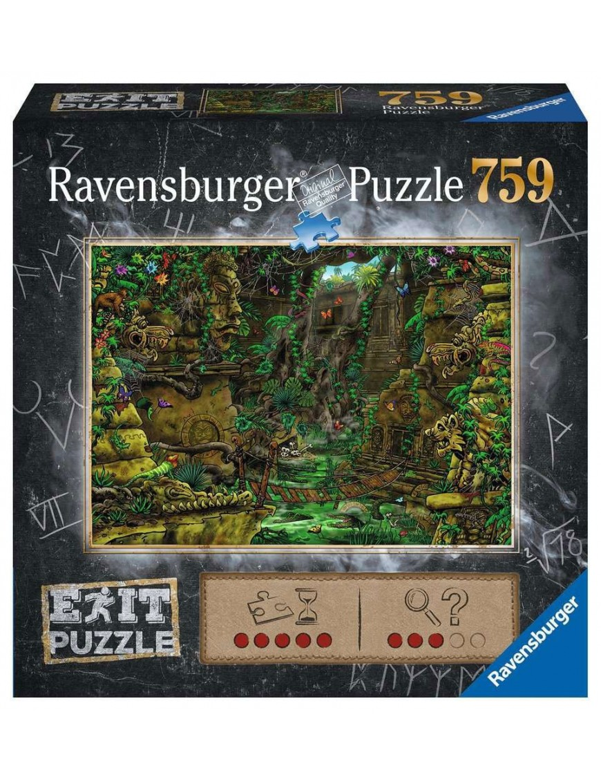 EXIT Jigsaw Puzzle Angkor Wat Temple (759 pieces)