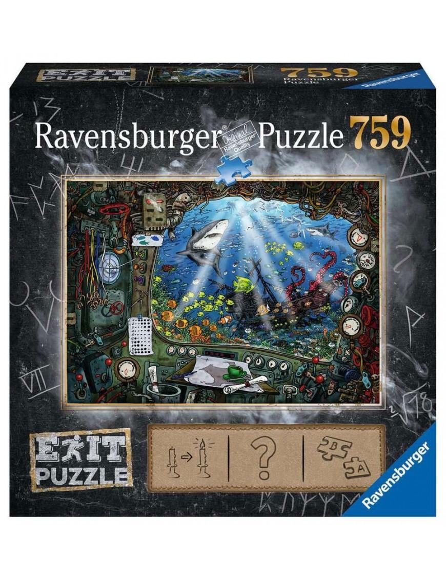EXIT Jigsaw Puzzle Submarine (759 pieces)