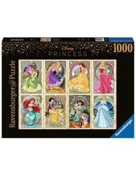 Disney Princess Puzzle Art Nouveau Princesses (1000 pieces)