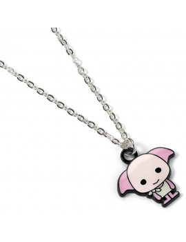 Harry Potter Cutie Collection Necklace & Charm Dobby (silver plated)