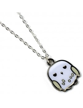 Harry Potter Cutie Collection Necklace & Charm Hedwig (silver plated)