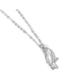 Harry Potter Pendant & Necklace Hedwig Owl (silver plated)